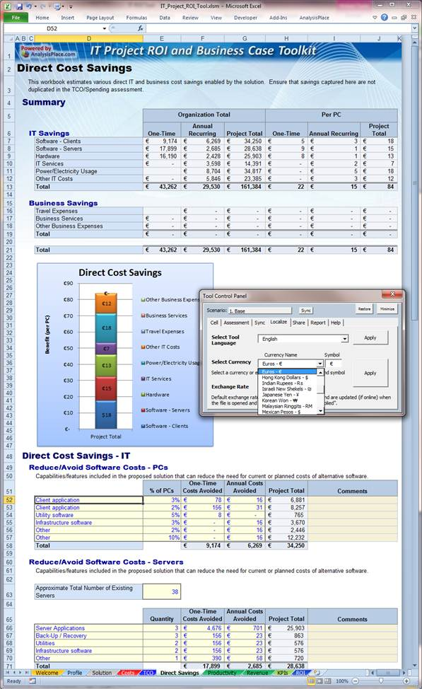 IT Project ROI and Business Case Toolkit