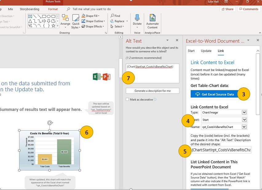 PowerPoint Linking